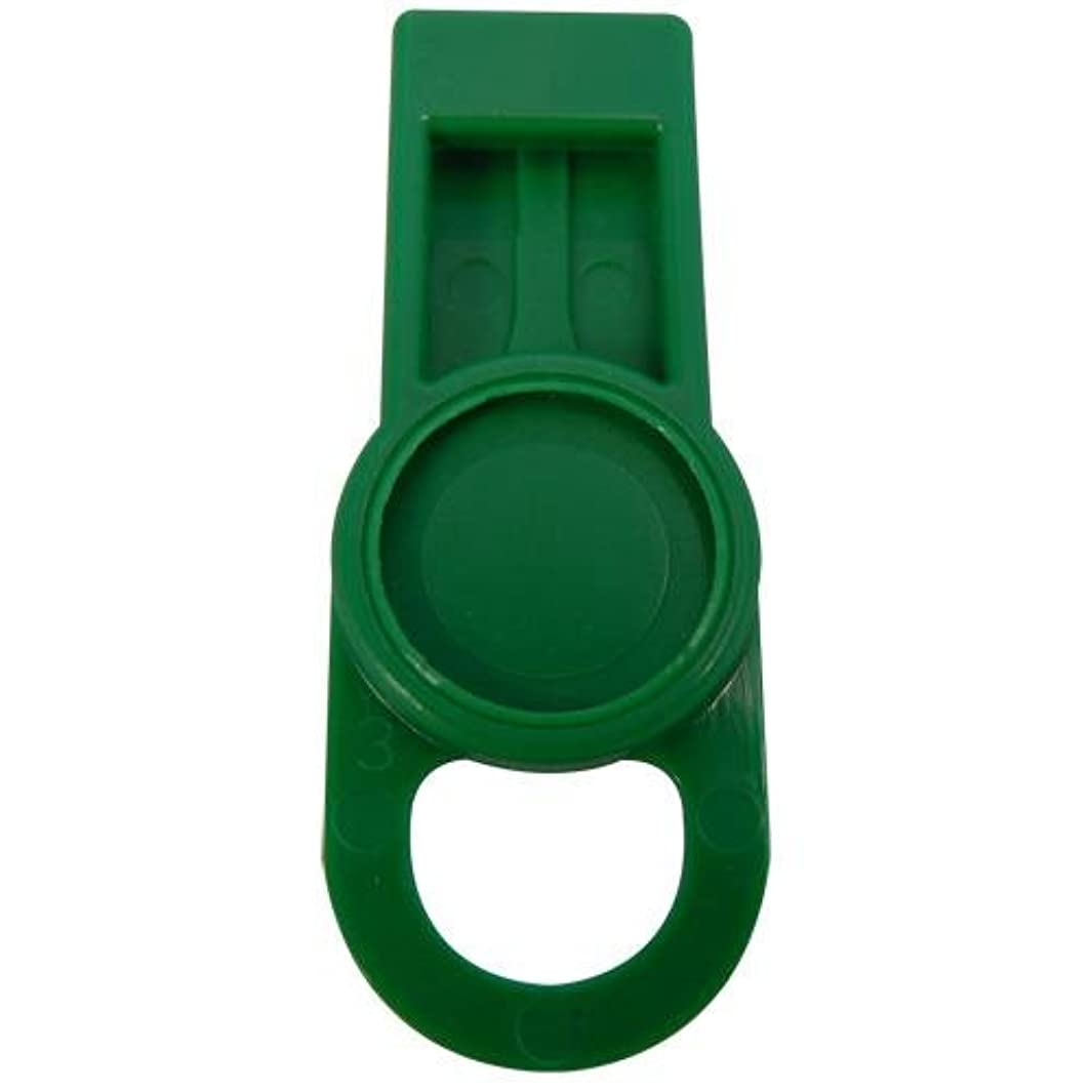 OIL SAFE 205505 ID Washer Tab, Mid Green (Pack of 6)