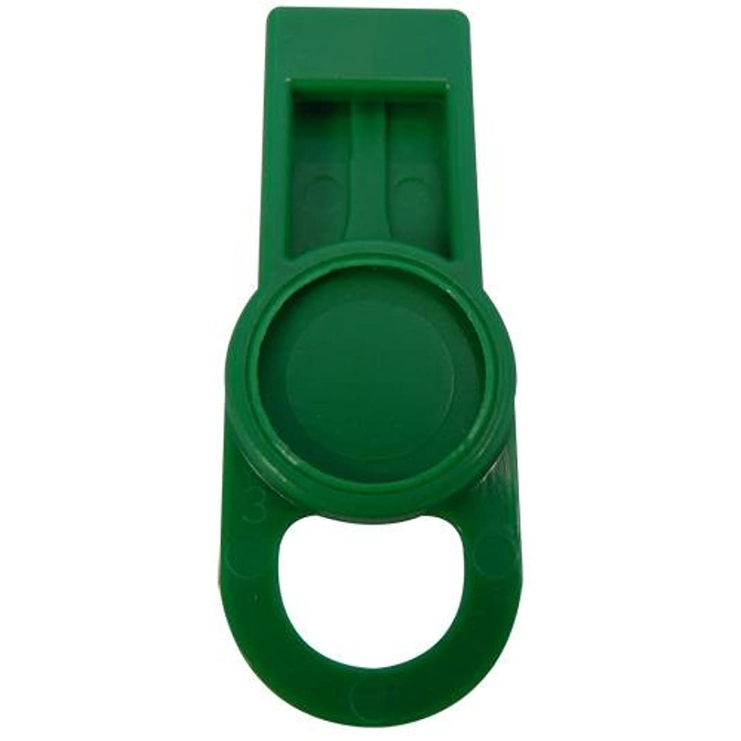 OIL SAFE 205505 ID Washer Tab, Mid Green (Pack of 6) ddeh24300