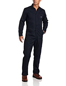 Dickies Men's Basic Blended Coverall, Dark Navy, XL Regular