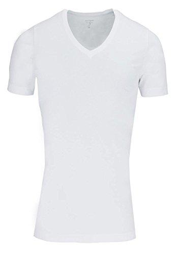 OLYMPHerren T-Shirt Level Five body Fit, Weiß, L