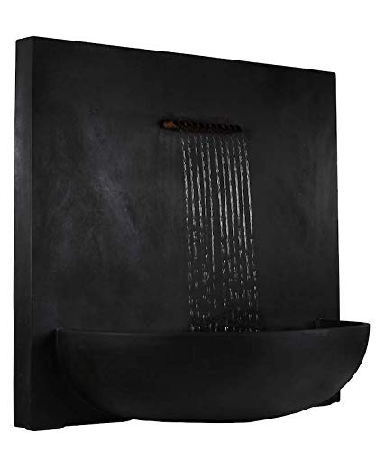 Leisure Traders DuPont Wall Mounted Square Water Feature Fountain