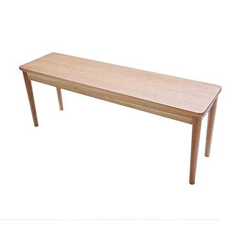 YCSD Robust Solide Esstisch Bank - Hölzerne Küche Esszimmer Stuhl Bank Flur Tür Freizeit Patio Garten Sitz (Size : 105x 32x 45cm)