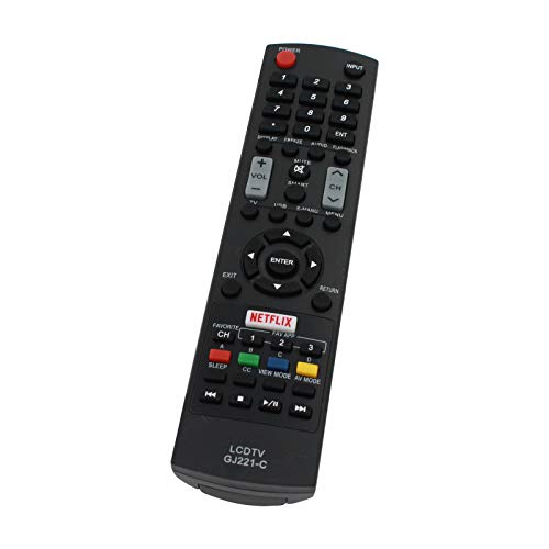 Replacement for Sharp GJ221 TV Remote Control Works with Sharp...