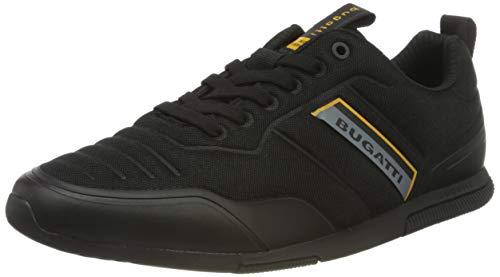 bugatti Herren 322732056900 Sneaker, schwarz, 42 EU