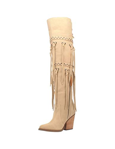 Dingo Witchy Woman Women's Boot 10 B(M) US Sand-Suede