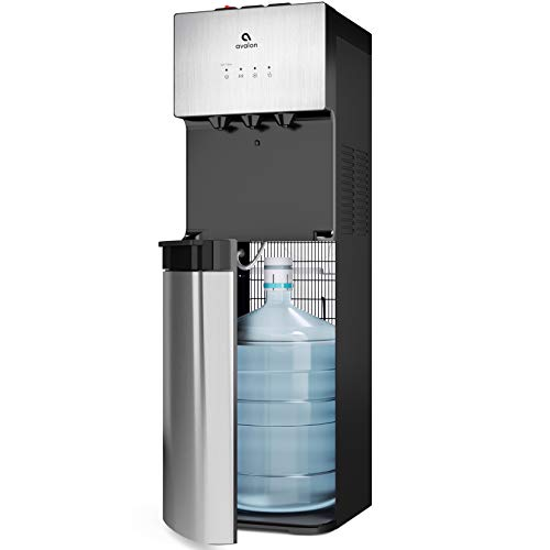 Product Image of the Avalon Limited Edition Self Cleaning Water Cooler Dispenser, 3 Temperature Settings - Hot, Cold & Cool Water, Durable Stainless Steel Construction, Bottom Loading - UL/Energy Star Approved