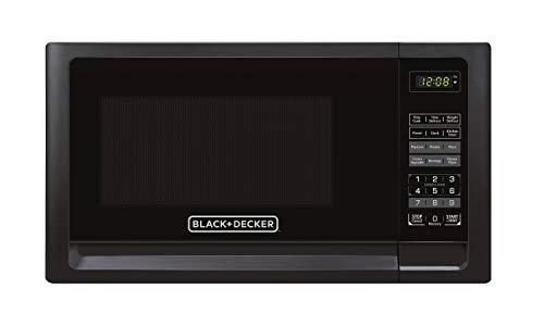 in budget affordable Black + Decker EM720CFO-PMB 0.7 Cu.Fort Digital Microwave