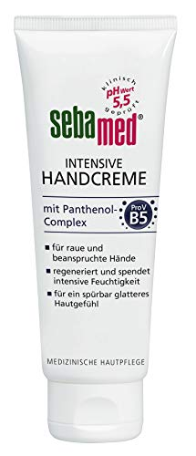 Sebamed Intensive Handcreme mit Panthenol-Complex, 6er Pack(6 x 75 ml)