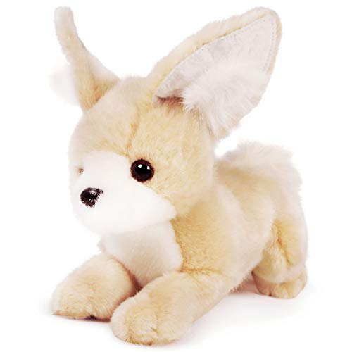VIAHART Filomena The Fennec Fox   8 Inch (Tail Measurement Not Included!) Stuffed Animal Plush   by Tiger Tale Toys -  850000897342
