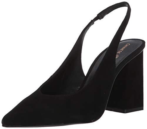 Chinese Laundry Women's Katana Pump, Black Suede, 8.5 M US