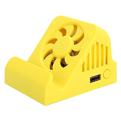 Base para TV para conmutador, estación de conexión para conmutador portátil con puerto HDMI USB 3.0 y ventilador de refrigeración, base de refrigeración con convertidor de vídeo HDMI para Switch Lite