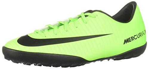 Nike Mercurial Victory VI Tf, Scarpe da Calcio Unisex-Bambini, Verde (Electric Green/Blk-FLSH Lm-Wht), 38 EU