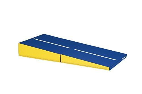 TOEI LIGHT(トーエイライト) スロープマット25F 幅90×長さ180×高さ5/25cm 二つ折り センターライン入り 裏面すべり止め加工 前転・後転運動練習導入に最適 T1927 T1927
