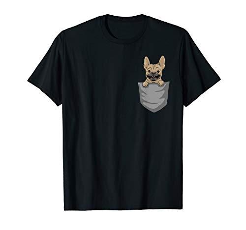 French Bulldog Pocket TShirt | Funny French Bulldog Shirt