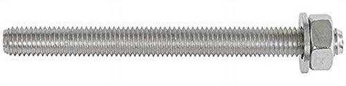 Upat Gewindestange UPM-A M12x140 R, Stahl, nichtrostend, Außengewinde, System, Kartusche, 20 Stück