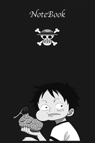 One Piece NoteBook: Luffy One piece notebook journal for everybody , gift anime , blank lined 120 White Pager, (6 x 9 inches)