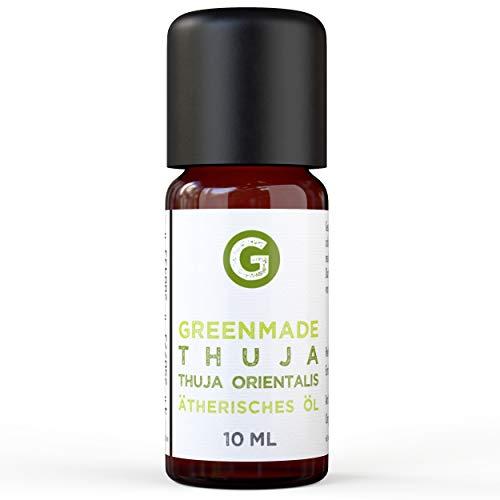 Thuja Öl 10ml - 100prozent naturreines, ätherisches Öl von greenmade