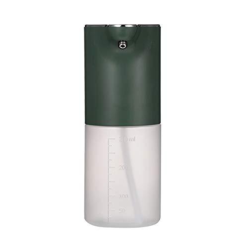 Dispensador de jabón automático USB Carga DE PAZA DE PAZA DE Espuma DE Espuma DE LA ARBAJA DE LA Manera del BAÑO DE LA Manera DE LA Manera DE LA Mano (Color : Green)
