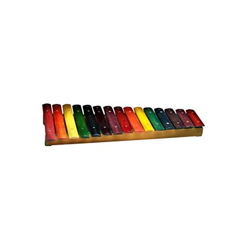 Stagg XYLO-J15 RB Xylophone mit 15-Keys rainbow