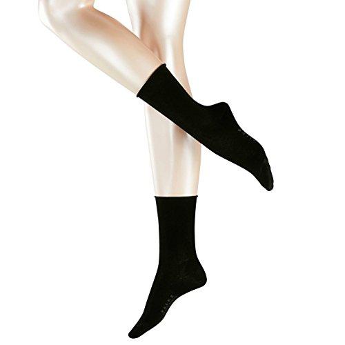 Falke Casual Damen Socken Breeze 2er Pack, Größe:35-38;Farbe:Black (3009)