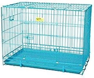 PSK PET MART 36-inch Blue Metal Dog Cage (Large)
