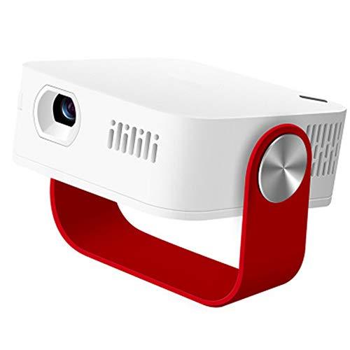 GWX Mini 1080p Hd projector, 120 inch 3D 5 g met hetzelfde scherm, 2000 lumen Led leven 20.000 uur in huis type