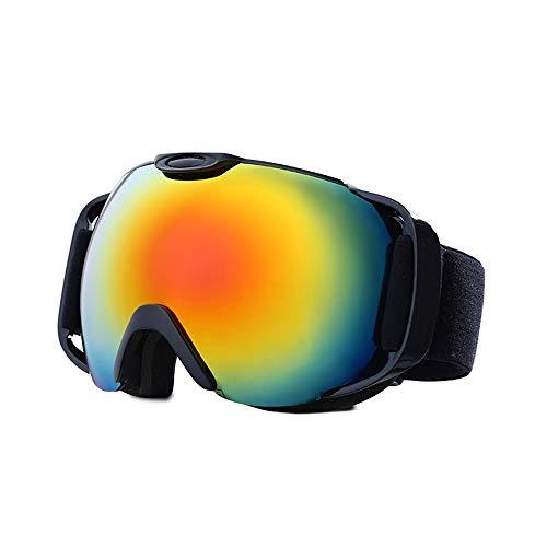 LG Schnee Große Sphärische Gläser Outdoor-Klettern Wintersport Doppel Antifog Skibrille TPU Rahmen Cocker Myopie Männer Frauen Geräte Geschenk
