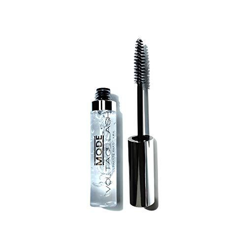 MODE Voltage Lash Ultimate Clear Gel Mascara (#2001 Crystal Clear) Sets and Holds to Enhance the Natural Curl of Lashes & Grooms and Defines Eyebrows by Mode Cosmetics