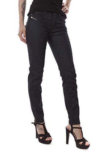 Diesel Pantaloni Jeans da Donna 7/8 Skinny Brucke Blu #1 - blu, 24W/32L