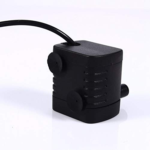 Enchufe USB Buen aislamiento Bomba sin escobillas Bomba de agua sumergible impermeable Mini bomba sumergible para fuente de acuario