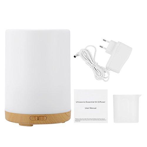 Anself Fresca 200ml Humidificador de Vapor en 7 Colores de Luz LED Ultrasónico del Aroma del Aceite Esencial del Difusor Humidificador de Aire