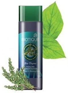 Biotique Bio Thyme Volume Conditioner For Fine & Thinning Hair 190 Ml