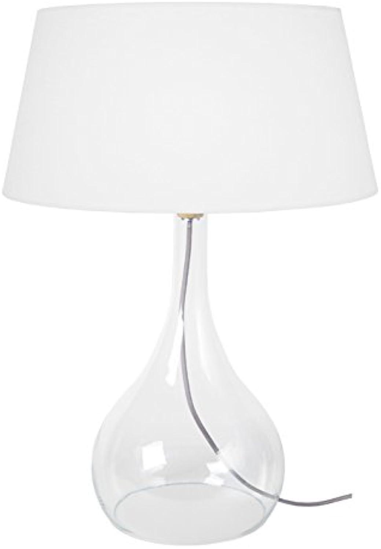 Tosel 64366 Treviso Lampe Glas mundgeblasen mundgeblasen mundgeblasen Baumwolle grau 450 x 660 mm B01GLM9QVE     | Einzigartig  b1fa81