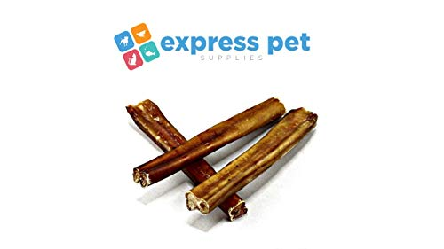 Bonya Smile Nervio Pene de Toro seco Pieza Buey 12sm 10psc| Dog Gift surprice Pizzle stix