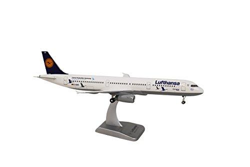 Unbekannt Airbus A321 Lufthansa Sonderlackierung 25 Jahre Kranichschutz Scale 1:200