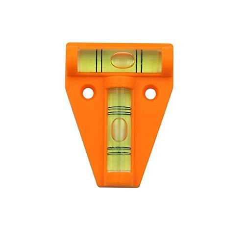 Ablerfly RV T Level Bubble Level Tool 2-Wege-Wasserwaage T-Typ Wasserwaage für Wohnmobile, Maschinen, Möbel, Stative, Kameraausrüstung Messen