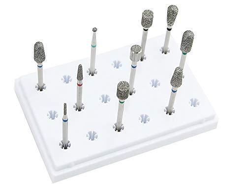11 teiliges Diamantschleifer Fräser-Set