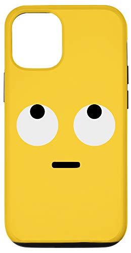 iPhone 12/12 Pro Rolling Eyes Face Eye Roll Emojis Emoticon Halloween Costume Case