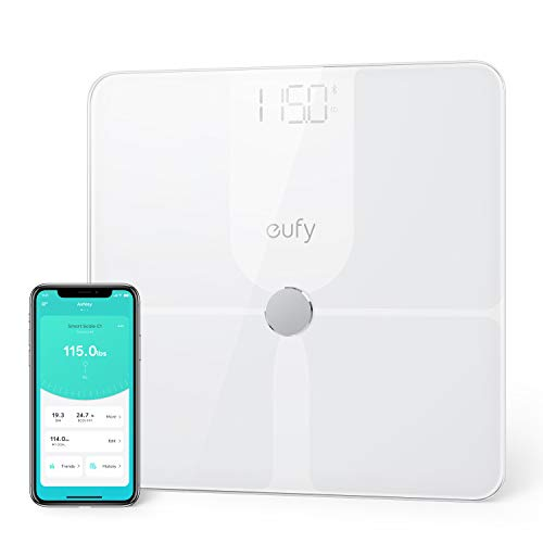 Cheapest Price! eufy by Anker, Smart Scale P1 with Bluetooth, Body Fat Scale, Wireless Digital Bathr...