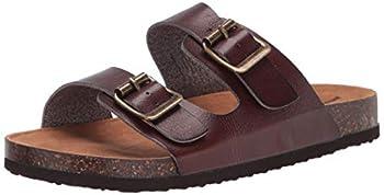 Amazon Essentials Kids  Flat Sandal Brown 2 M US Big