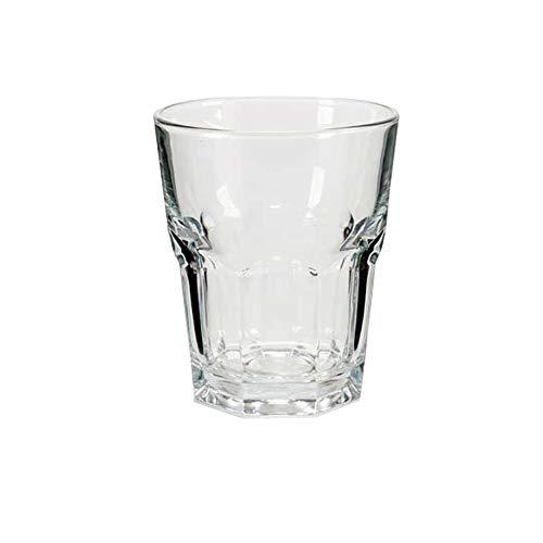 Vasos Cristal Agua Juego de Vasos de Agua Resistentes Vaso Cristal Agua Sidra vajillas Completas y Modernas Apto para lavavajillas Tapas Rioja (6 Vasos)