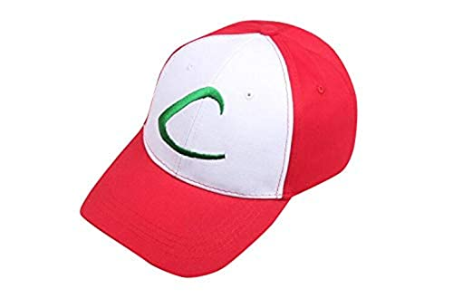 Cosplay Accessory Pokemon Best Wishes Satoshi Baseball Cap hat Sun Protection hat Cosplay Tool (Japan Import)