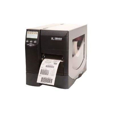 "Zebra ZM400 Thermal Label Industrial Printer, 10 in/s Print Speed, 203 dpi Print Resolution, 4.09"" Print Width, 110/220V AC (Renewed)"