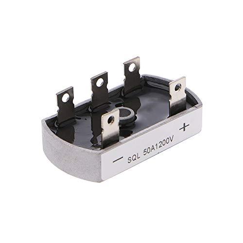 XinQuan Wang 50A 1200V aluminium metalen behuizing 3 fase Diode brug gelijkrichter 50Amp SQL50A module