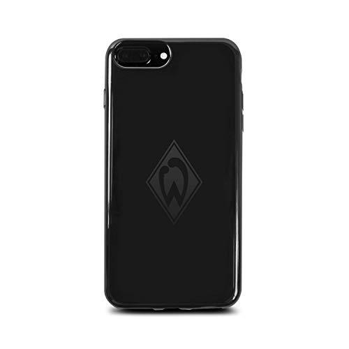 Werder Bremen Case - Mittelstürmer - Schutzhülle Passend Für Das Apple iPhone 8 Plus, iPhone 7 Plus und iPhone 6 Plus - Schwarz