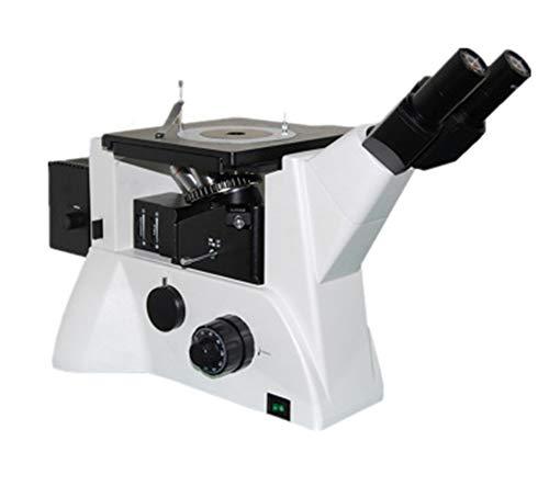Sophia Microscopio, microscopio metalográfico invertido Triocular Larga Distancia de Trabajo polarizada microscopio