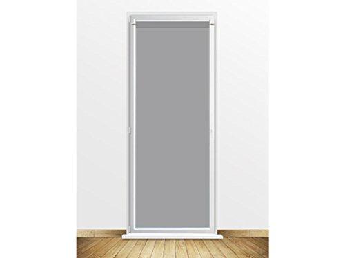 Visillo para Puerta acristalada 90x200 cm Dolly Gris