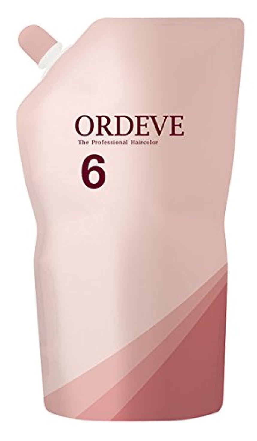 憧れ食い違いオズワルドORDEVE(オルディーブ) ヘアカラー 第2剤 OX(オキシダン) 6% 1000ml