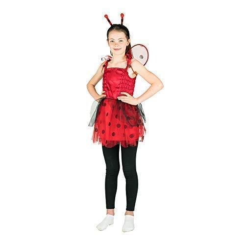 Bodysocks® Disfraz de Mariquita Niña (5-7 años)