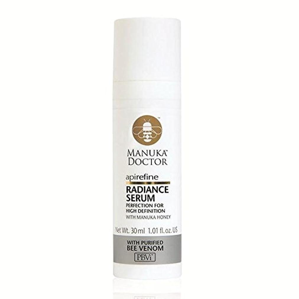 ガチョウ正規化漂流Manuka Doctor Api Refine Radiance Serum 30ml (Pack of 6) - マヌカドクター絞り込み放射輝度セラム30 x6 [並行輸入品]